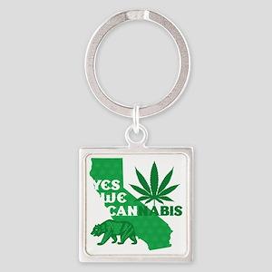 yesweCANnabis Square Keychain