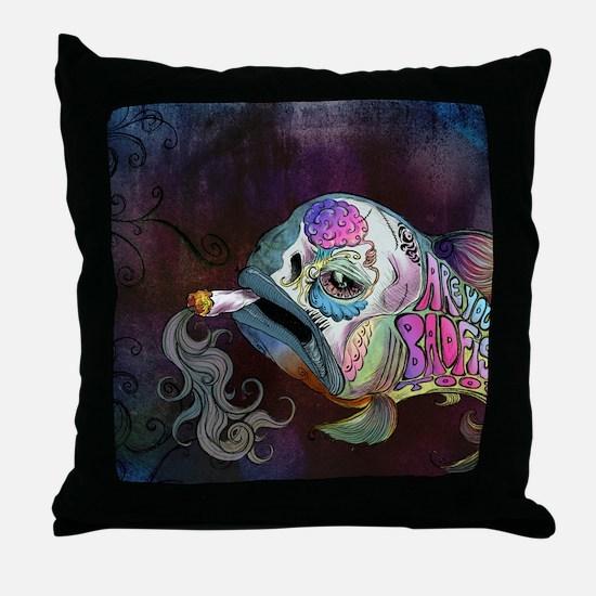 badfish Throw Pillow