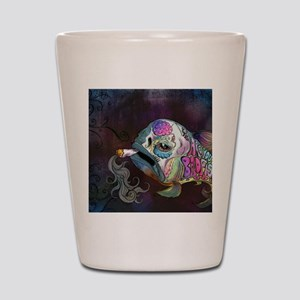 badfish Shot Glass