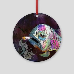 badfish Round Ornament