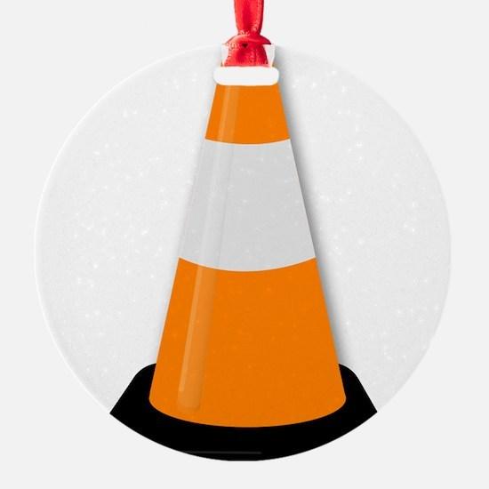 Traffic Cone Ornament