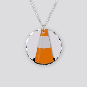 Traffic Cone Necklace