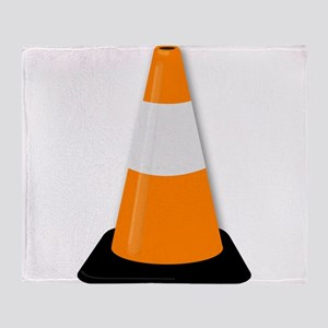 Traffic Cone Throw Blanket