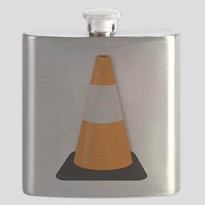 Traffic Cone Flask