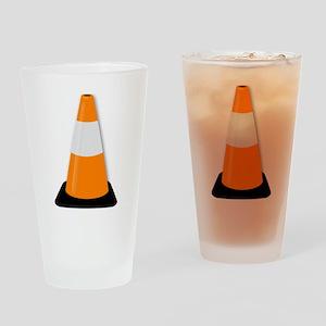 Traffic Cone Drinking Glass