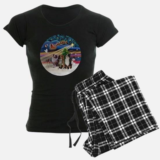 Xmas Magic - Aussie Shepherd Pajamas