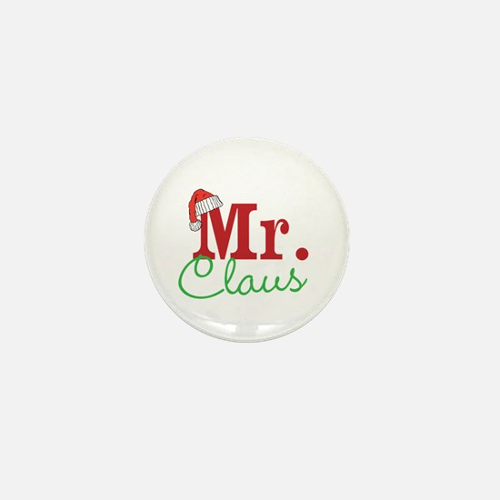 Christmas Mr Personalizable Mini Button