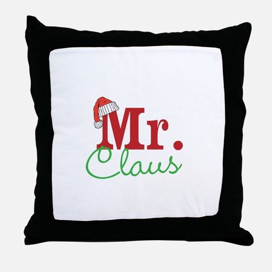 Christmas Mr Personalizable Throw Pillow