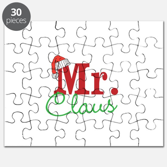 Christmas Mr Personalizable Puzzle