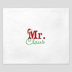 Christmas Mr Personalizable King Duvet