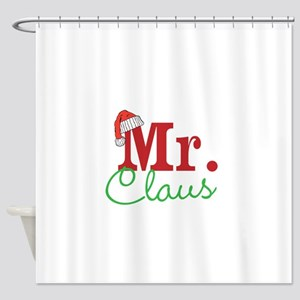 Christmas Mr Personalizable Shower Curtain
