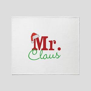 Christmas Mr Personalizable Throw Blanket