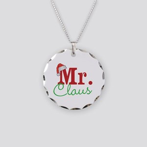 Christmas Mr Personalizable Necklace Circle Charm