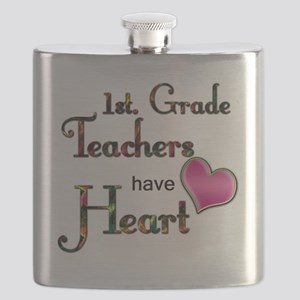 Teachers Have Heart 1 Flask