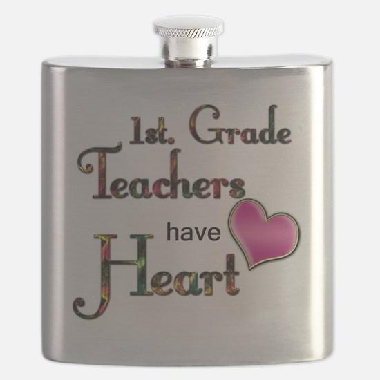 Teachers Have Heart 1 Flask