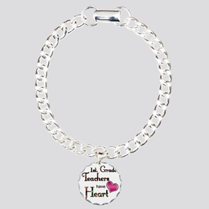 Teachers Have Heart 1 Charm Bracelet, One Charm