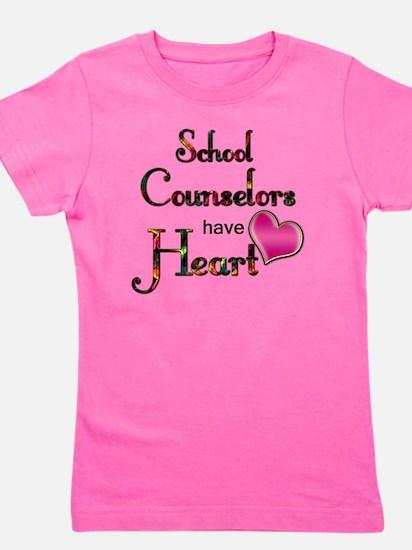 Teachers Have Heart counselors Girl's Tee