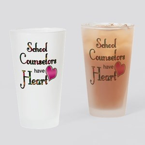 Teachers Have Heart counselors Drinking Glass
