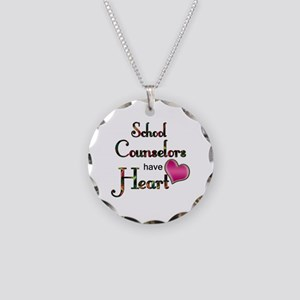 Teachers Have Heart counselo Necklace Circle Charm
