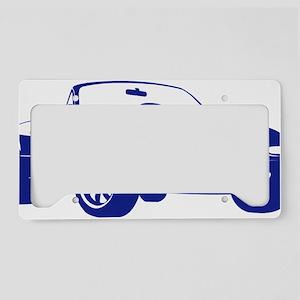 NA blue License Plate Holder