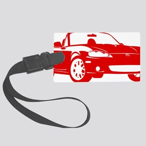 2-NB red Large Luggage Tag