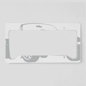 NA silver License Plate Holder