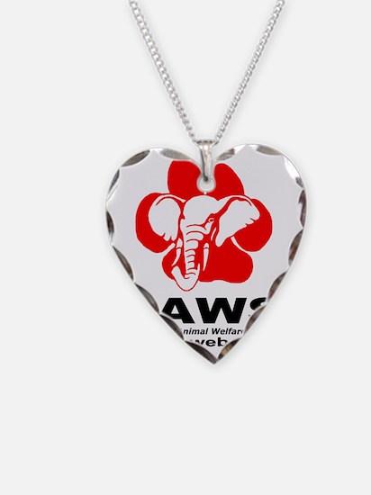 2-PAWSLogo1copy Necklace
