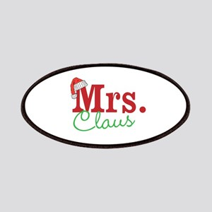 Christmas Mrs personalizable Patches
