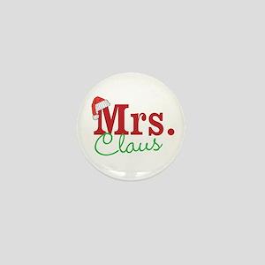 Christmas Mrs personalizable Mini Button
