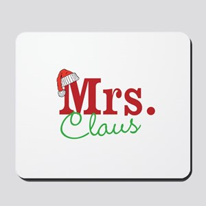 Christmas Mrs personalizable Mousepad