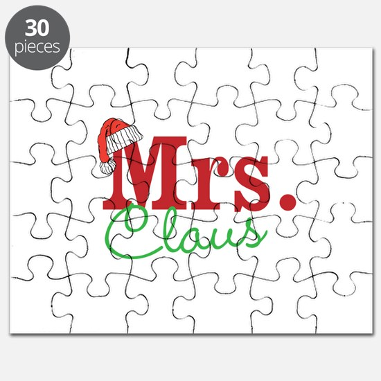 Christmas Mrs personalizable Puzzle