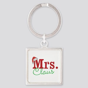 Christmas Mrs personalizable Keychains