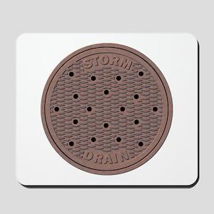 Manhole Cover Mousepad