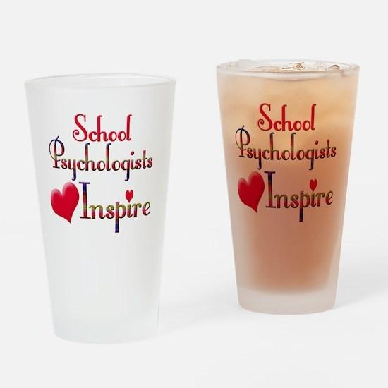 Teachers Inspire Psychologist  Drinking Glass