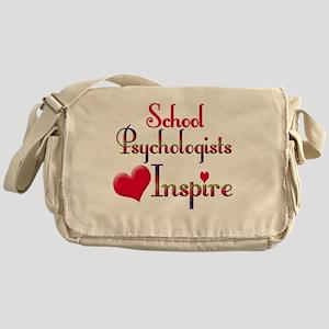 Teachers Inspire Psychologist  Messenger Bag