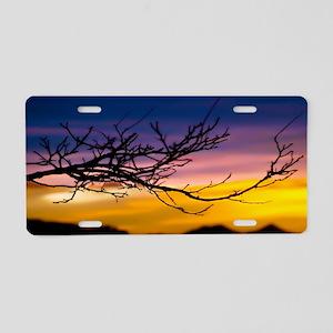 Sunset Branch-1a 007a Aluminum License Plate