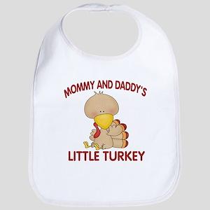 Mommy Daddys Turkey Bib