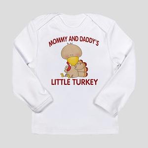 Mommy Daddys Turkey Long Sleeve T-Shirt