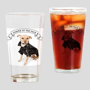 RDChihuahuaLeader Drinking Glass