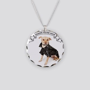 RDChihuahuaLeader Necklace Circle Charm