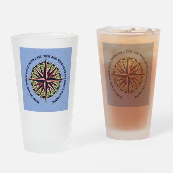 compass-rose3-BUT Drinking Glass
