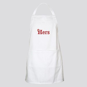 Christmas Hers - half of his and hers set Apron