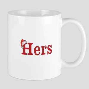 Christmas Hers - half of his and hers set Mugs
