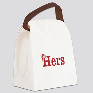 Christmas Hers - half of his and hers set Canvas L