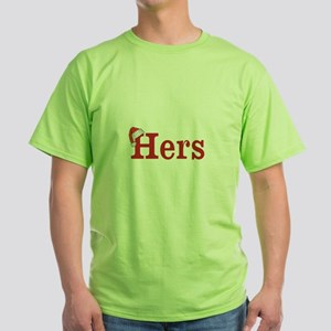 Christmas Hers - half of his and hers set T-Shirt