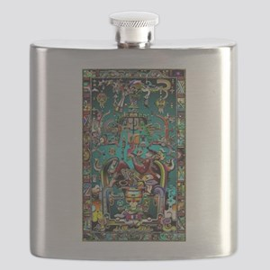 Lord Pacal the Rocket Man Flask