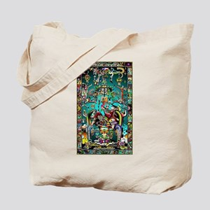 Lord Pacal the Rocket Man Tote Bag