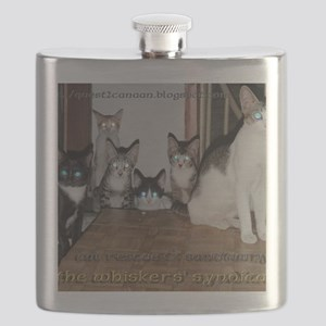 whiskers syndicate4 Flask