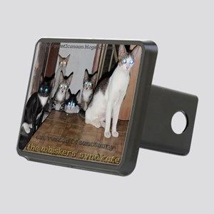 whiskers syndicate4 Rectangular Hitch Cover