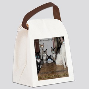 whiskers syndicate4 Canvas Lunch Bag